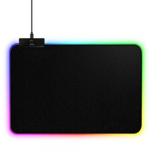 Oversized game pad wireless charging mouse pad