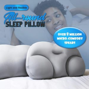 All-round Sleep Pillow Egg Sleeper Comfortable Health Care Pain Release Memory Foam Neck Pillow Dropshiping