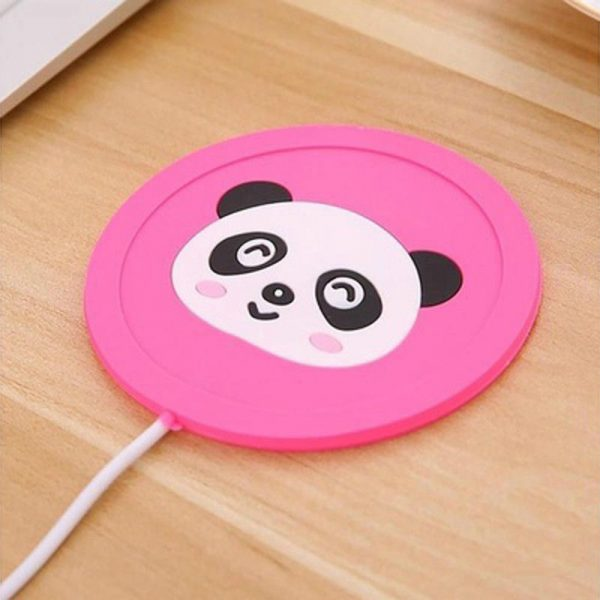 USB Home Office Insulation Cup Pad Heat Heater Milk Tea Coffee Mug Warmer